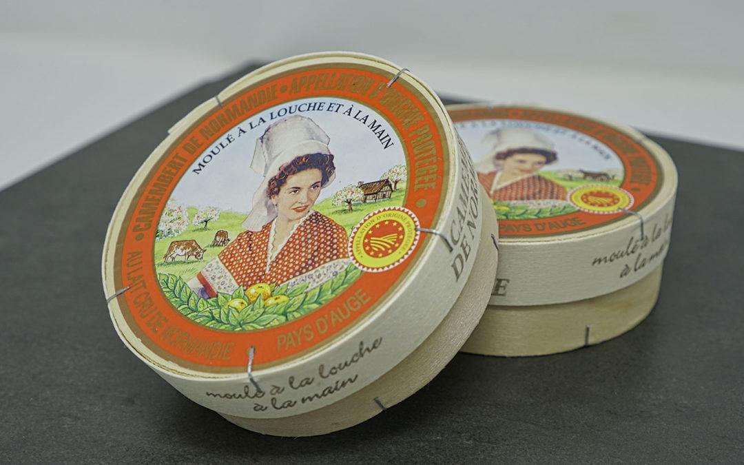 Fromage camembert de normandie AOP