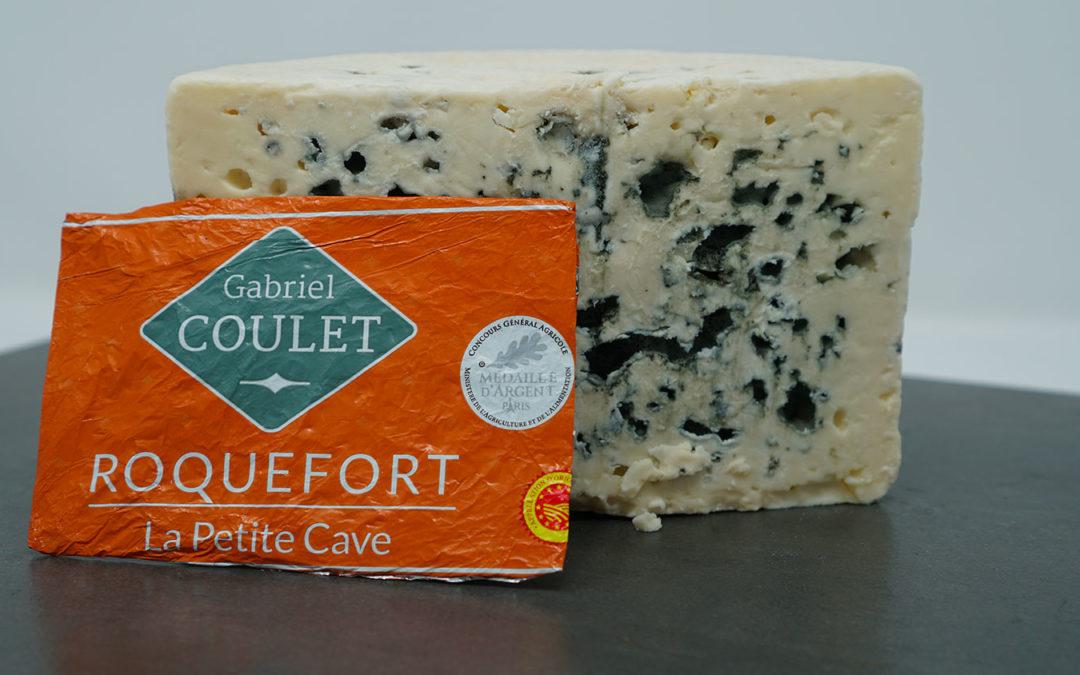 Fromage roquefort de la maison Gabriel Coulet